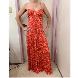 Free People Under the Moonlight Maxi dress Small